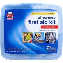 Rite Aid All-Purpose First Aid Kit - 70 pc