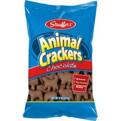 Stauffer's Chocolate Animal Cracker - 8 oz