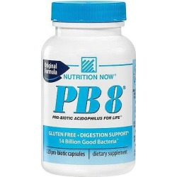 Nutrition Now PB8, Original Formula, Pro-Biotic Capsules, 120 capsules