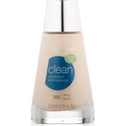 CoverGirl Clean Liquid Makeup, Oil Control, Ivory 505 - 1 fl oz