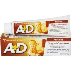 A+D Diaper Rash Ointment & Skin Protectant, Original - 4 oz