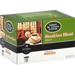 Green Mountain K-Cup Coffee, Breakfast Blend, Light Roast Decaf - 4.02 oz