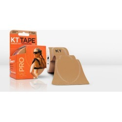 KT Tape Sports Tape, Precut Strips, Stealth Beige - 20 ct