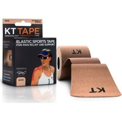 Kt Tape Original Cotton Elastic Kinesiology Theraeputic Tape, Beige - 1.5 oz