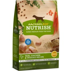 Rachael Ray Nutrish Natural Dry Dog Food, Real Chicken & Veggies Recipe - 3.5 lbs
