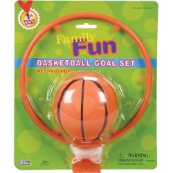 Basketball and Goal Set