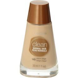 CoverGirl Clean Liquid Makeup, Normal Skin, Warm Beige 145 - 1 fl oz