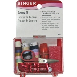 Sewing Kit in Storage Box - 33 pieces