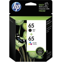 HP 65 Ink Catridges, Combo Black/Tri-Color - 2 pk found on Bargain Bro India from Rite Aid for $32.99