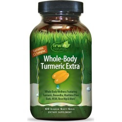Irwin Naturals Dietary Supplement Soft-Gels, Turmeric Extra - 60 ct