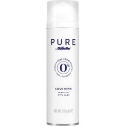 PURE by Gillette Shaving Gel for Men, 6 fl oz