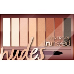 CoverGirl TruNaked Eyeshadow Palette, Nudes - 0.23 oz