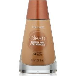 CoverGirl Clean Liquid Makeup, Normal Skin, Tawny 165 - 1 fl oz