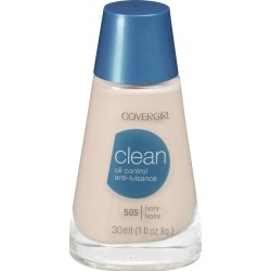 CoverGirl Clean Liquid Makeup, Oil Control, Creamy Natural 520 - 1 fl oz