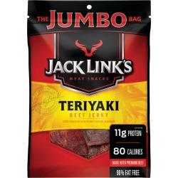 Jack Link's Teriyaki Beef Jerky, Jumbo Size - 5.85 oz