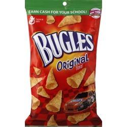 Bugles Corn Snacks, Original Flavor - 7.5 oz