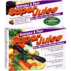 Super Juice Dietary Supplement, Daily Multi Phyto-Nutrient Formula, Vegetable & Fruit - 60 ct