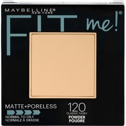 Maybelline Fit Me Matte + Poreless Pressed Face Powder, Classic Ivory - 0.29 oz