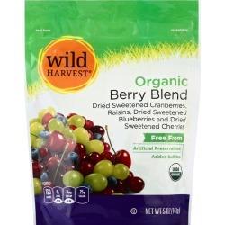 Wild Harvest Berry Blend, Dried Fruit - 5 oz