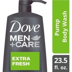 Dove Men+Care Body Pump Body Wash, Extra Fresh - 23.5 oz