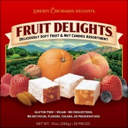Liberty Orchards Fruit Delights - 20 pieces