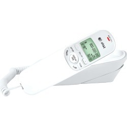 AT&T Trimline Phone with Caller ID, White