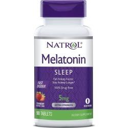 Natrol Melatonin Fast Dissolve Sleep Tablets, 5mg - 90 ct