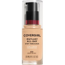 CoverGirl Outlast All Day Stay Fabulous 3N1 Liquid Foundation, Creamy Natural 820 - 30mL