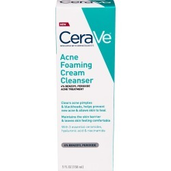 CeraVe Acne Foaming Cream Cleanser - 5 oz found on MODAPINS from Rite Aid for USD $11.99