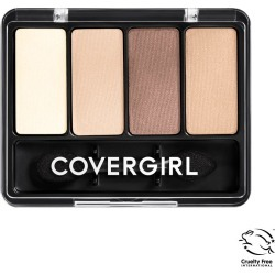 CoverGirl Eye Enhancers 4 Kit Eyeshadow Palette, Natural Nudes 280 - 0.19 oz