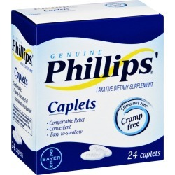 Phillips' Laxative Caplets - 24 ct