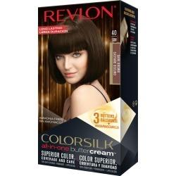 Revlon Colorsilk Buttercream Hair Color, Dark Brown 40