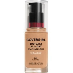 CoverGirl Outlast All Day Stay Fabulous 3N1 Liquid Foundation, Classic Tan 860 - 30 mL