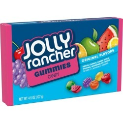 Jolly Rancher Gummies Candy, Assorted Flavors - 4.5 oz