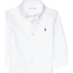 Ralph Lauren Cotton Oxford Shirt in White - Size 12M found on Bargain Bro from Ralph Lauren for USD $30.02