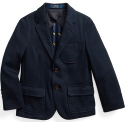 Ralph Lauren Knit Cotton Sport Coat in RL Navy - Size 7 found on Bargain Bro from Ralph Lauren for USD $133.00