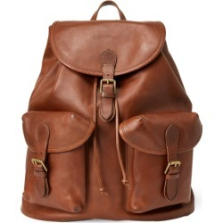 Ralph Lauren Heritage Leather Backpack in Saddle - Size One Size found on Bargain Bro Philippines from Ralph Lauren for $695.00