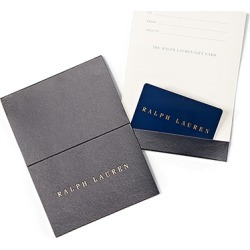 Ralph Lauren Gift Card Blue-$200 found on Bargain Bro Philippines from Ralph Lauren for $200.00