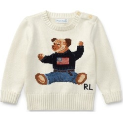 Ralph Lauren Polo Bear Cotton Sweater in Warm White - Size 24M found on Bargain Bro Philippines from Ralph Lauren for $125.00