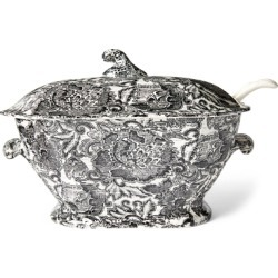 Ralph Lauren Faded Peony Soup Tureen in Black - Size One Size found on Bargain Bro from Ralph Lauren for USD $272.45