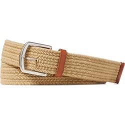 Ralph Lauren Braided Stretch Cotton Belt in Timber Brown - Size XL found on Bargain Bro from Ralph Lauren for USD $57.00