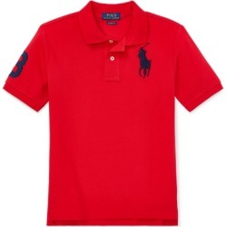 Ralph Lauren Big Pony Cotton Mesh Polo in RL 2000 Red - Size M found on Bargain Bro from Ralph Lauren for USD $34.20