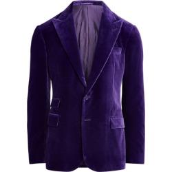 Ralph Lauren Kent Velvet Dinner Jacket in Classic Purple - Size 42 found on Bargain Bro from Ralph Lauren for USD $1,896.20