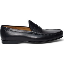 Ralph Lauren Chalmers Calfskin Penny Loafer in Black - Size 7.5 found on Bargain Bro from Ralph Lauren for USD $680.20