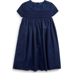 Ralph Lauren Embroidered Tulle A-Line Dress in French Navy - Size 6X found on Bargain Bro from Ralph Lauren for USD $128.43