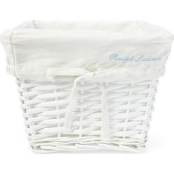 Ralph Lauren Baby Small Wicker Basket in White - Size S found on Bargain Bro Philippines from Ralph Lauren for $40.00