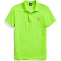Ralph Lauren Classic Fit Mesh Polo Shirt in Kiwi Lime - Size S found on Bargain Bro from Ralph Lauren for USD $68.02