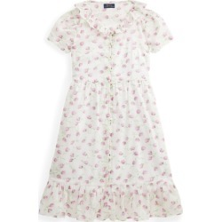 Ralph Lauren Floral Cotton Midi Dress in Summer Purple Floral - Size 12 found on Bargain Bro India from Ralph Lauren for $69.50