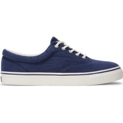 Ralph Lauren Harpoon Canvas Sneaker in Newport Navy - Size 7.5 found on Bargain Bro from Ralph Lauren for USD $57.00