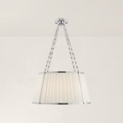 Ralph Lauren Windsor Large Hanging Shade in Polished Nickel - Size Large found on Bargain Bro Philippines from Ralph Lauren for $2499.00